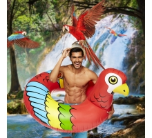 Gigantische Zwemband Papegaai