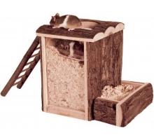 Trixie Natural Living Speel- en Graaftoren 24 cm