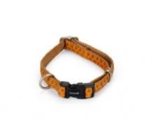 Macleather Halsband bruin 15 x 20-40 cm