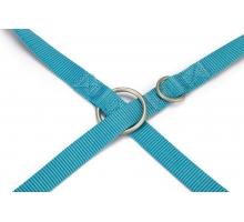 Beeztees Nylon Looplijnijn Uni lichtblauw 120 x 20 cm
