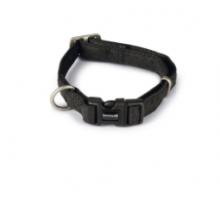 Macleather Halsband zwart 20 x 35-50 cm