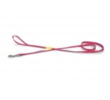 Beeztees Nylon Looplijn Uni roze 120 x 10 cm