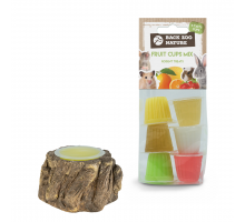 Back Zoo Nature Houder Bark-Look Knaag + GRATIS Fruitkuipjes