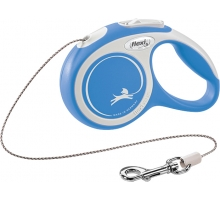 Flexi Rollijn Comfort Cord XS blauw 3 m