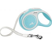 Flexi Rollijn Comfort Tape M lichtblauw 5 m