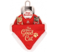 Kerst Bandana Good Cat S