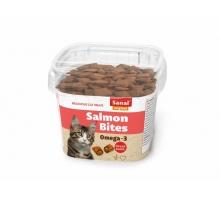 Sanal Salmon Bites - kattensnoepjes in cup