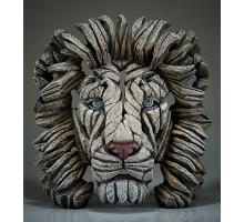 Edge Sculpture Witte Leeuw Buste