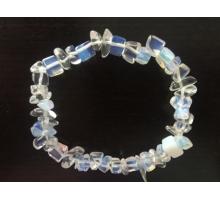 Dunne Edelsteen Armband Opaliet