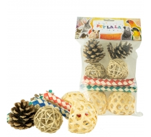 Petlala Foraging Mix Set 10 st