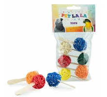 Petlala Popsicle Foot Toy 6 pack