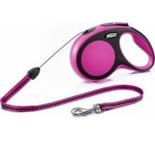 Flexi Rollijn Comfort Cord S roze 8 m