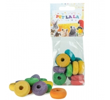 Petlala Wooden Wheels 15 st