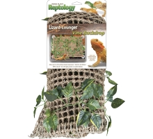 Reptology Natural Lizard-Lounger Vine Backdrop