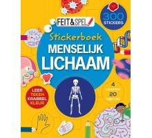 Feit en Spel Stickerboek Menselijk Lichaam