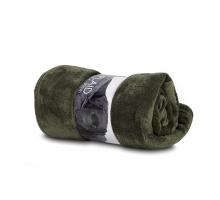 Plaid Fleece Green 130 x 180 cm