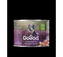 Goood Mini Senior Vrije uitloop kalkoen & duurzame forel 200 g