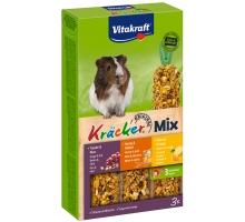 Vitakraft Kracker Mix 3 in 1 Cavia noot/honing/citrus