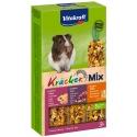 Vitakraft Kracker Mix 3 in 1 Cavia honing/noot/fruit