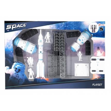 Speelset ruimte met raket 9-delig