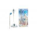 Ice Princess Set met vlecht, tiara en staf prinses