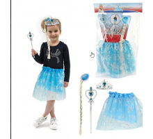 Ice Princess Set met tutu tiara en staf Prinses