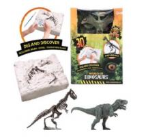 World of Dinosaurs Uitgraafset 'dino Fossiel'