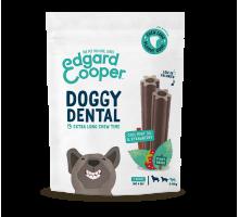 Edgar & Cooper Doggy Dental Appel &Eucalyptus Kleine hond 7 stuks
