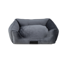 District 70 Veluro Box bed Iron Grijs M