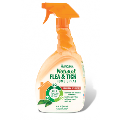 TropiClean Natural Flea and Tick Home Spray 946ml