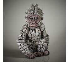 Edge Sculpture Baby Gorilla Snowflake
