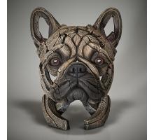 Edge Sculpture Franse Buldog Buste Fawn