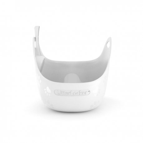 LitterLocker Litterbox White