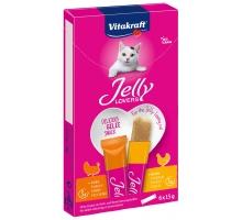 Vitakraft Jelly Lovers Kip Kalkoen 6 x 15 gram