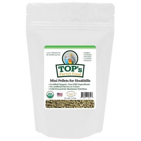 TOP's Parrot Mini Pellets 1 pound (453 gram)