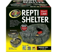 Zoo Med Repti Shelter 3-in-1 Cave, MED