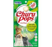 Inaba Churu Pops Tonijn Met Kip 12X60 GR