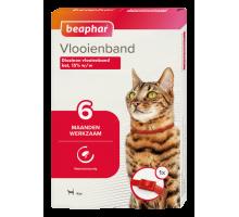 Beaphar Vlooienband 6 maanden kat rood