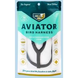 Aviator Small Vogeltuigje Zwart