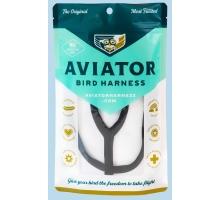 Aviator Medium Vogeltuigje Zwart