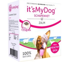 It's My Dog Schapenvet Zalm 40 stuks