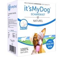 It's My Dog Schapenvet Naturel Mini 80 stuks