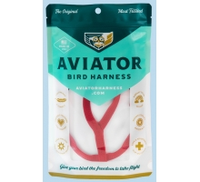 Aviator Extra Large Vogeltuigje Rood