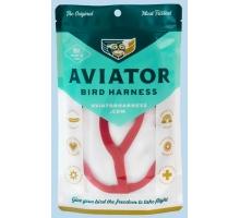 Aviator Extra-Extra Large Vogeltuigje Rood