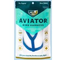 Aviator Extra-Extra Large Vogeltuigje Blauw