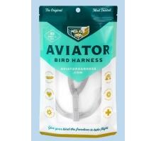 Aviator Extra-Extra Large Vogeltuigje Zilver