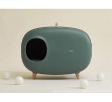 Petlux MakeSure Design Kattenbak met lade groen