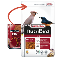 NutriBird F16 - Lijsters, Spreeuwen en Merels 10 KG
