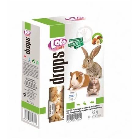 Drops knaagdier en konijn noten lolo pets
