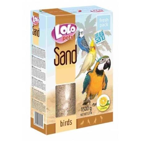 Lolo Pets Zand voor Vogels met Citroen 1500 gram